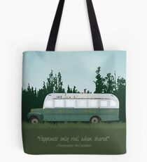 Into The Wild - Magic Bus Tote Bag