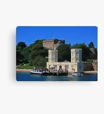 Brownsea Castle Canvas Print