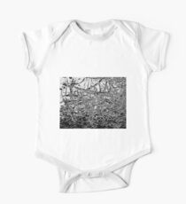 Black and White abstraction, pattern Kids Clothes
