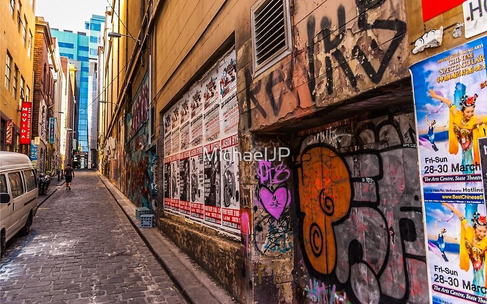 Hosier Lane by MichaelJP