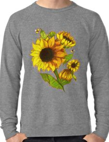 Sunflowers Lightweight Sweatshirt