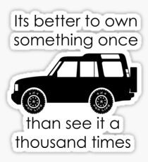Discovery - Own IT Sticker
