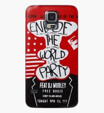 MR ROBOT: END OF THE WORLD PARTY Case/Skin for Samsung Galaxy
