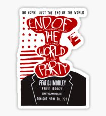 MR ROBOT: END OF THE WORLD PARTY Sticker