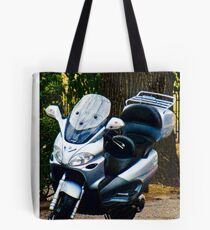 Face on a Moped, Bolzano/Bozen, Italy Tote Bag