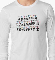Stranger Things - Alphabet Wall T-Shirt