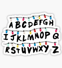 Stranger Things - Alphabet Wall Sticker