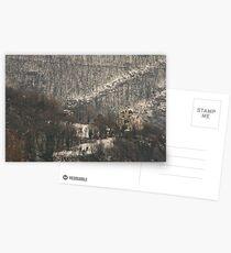 Snow scene, Bolzano/Bozen, Italy  Postcards