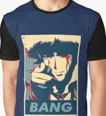 Bang - Spike Spiegel Graphic T-Shirt