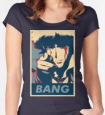 Bang - Spike Spiegel Women's Fitted Scoop T-Shirt