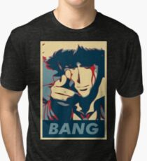 Bang - Spike Spiegel Tri-blend T-Shirt