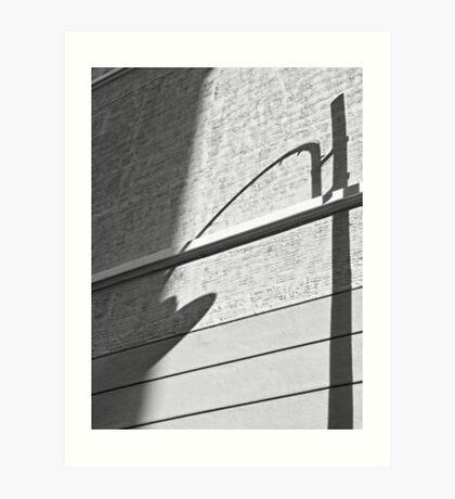 Shadow Lamp, Bolzano/Bozen, Italy Art Print