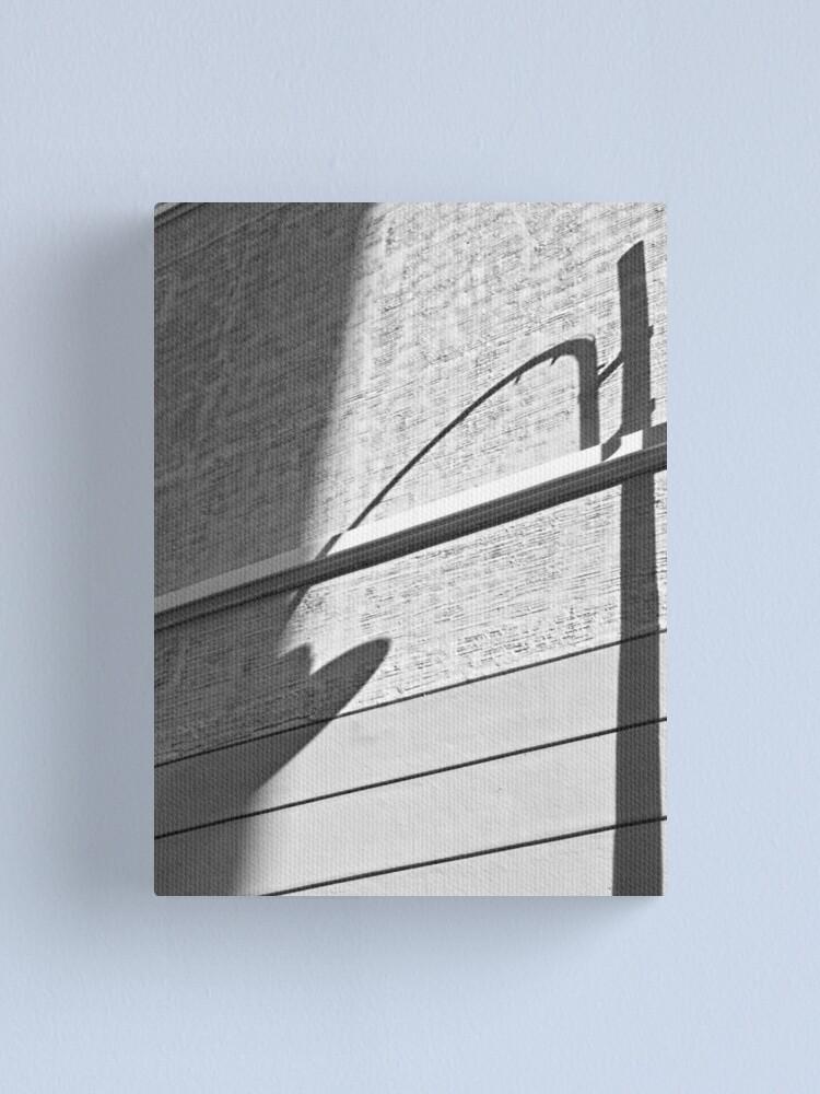 Alternate view of Shadow Lamp, Bolzano/Bozen, Italy Canvas Print