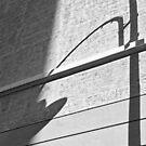 Shadow Lamp, Bolzano/Bozen, Italy by L Lee McIntyre