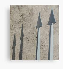Pointed Shadows, Bolzano/Bozen, Italy Metal Print