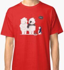 Penguin Become To Panda Classic T-Shirt