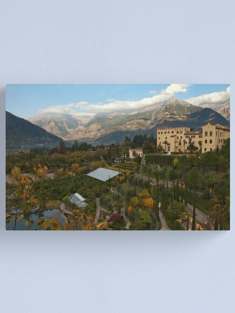 Alternate view of Schloss Trauttmansdorff, Merano/Meran, Italy Canvas Print