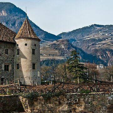 Schloss Maretsch (Castello Mareccio), Bolzano/Bozen, Italy by leemcintyre
