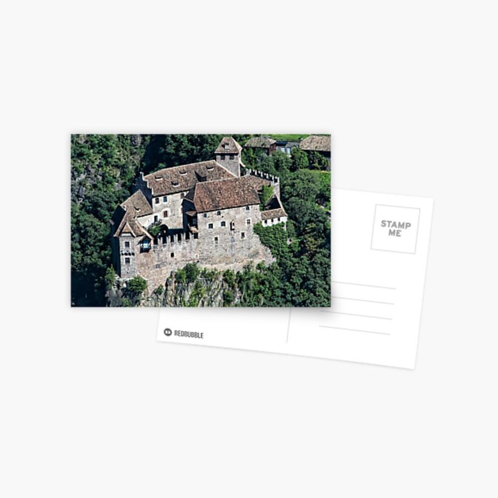 Schloss Runkelstein (Castello Roncolo), Bolzano/Bozen, Italy Postcard
