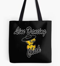 Line Dancing Chick #4 Tote Bag