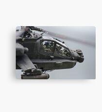 Boeing AH-64 Apache Gunship Canvas Print