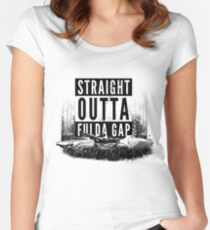 Straight Outta Fulda Gap Women's Fitted Scoop T-Shirt