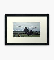 Wheelie copter  Framed Print