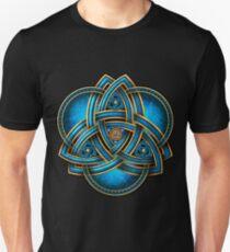 Blue Celtic Triquetra T-Shirt