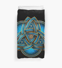 Funda nórdica Blue Celtic Triquetra