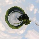 Little planet in the sky by maryevebramante