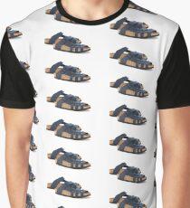 Navy Blue Birkenstock Graphic T-Shirt