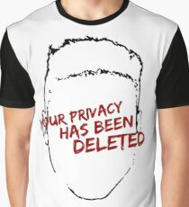 privacy Graphic T-Shirt