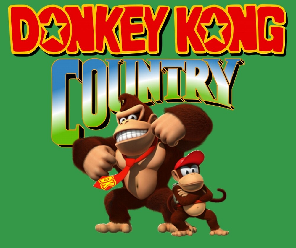 Donkey Kong Country by GKnation