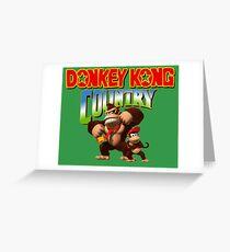 Donkey Kong Country Greeting Card