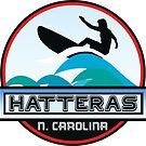 Surfing HATTERAS NORTH CAROLINA Surf Surfer Surfboard Waves Ocean Beach Vacation by MyHandmadeSigns