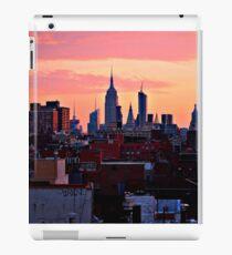 nyc sunrise  iPad Case/Skin