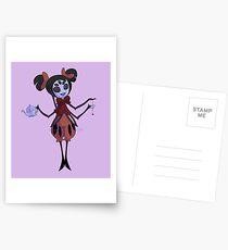 Little Miss Muffet Postcards
