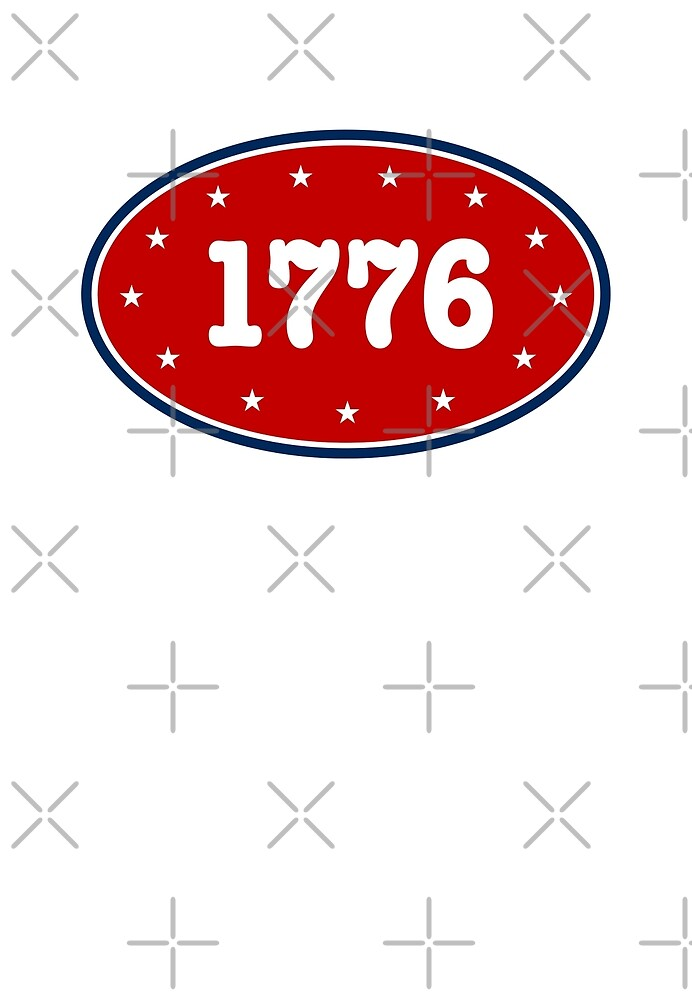 1776 - Patriotic 4th of July design by depresident