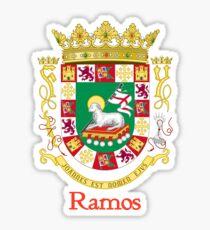 Ramos Shield of Puerto Rico Sticker