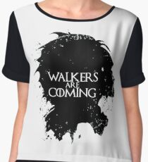 game of walking dead Women's Chiffon Top