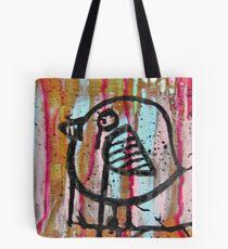 Cardboard Owl Tote Bag
