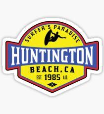 Surfing HUNTINGTON BEACH CALIFORNIA Surf Surfer Surfboard Waves Ocean Beach Vacation 3 Sticker