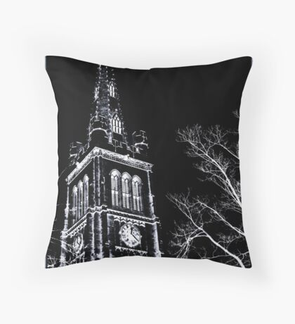 St Peter & Paul Parish church, Kettering from Kettrin'Kollection Throw Pillow