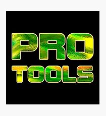 Pro tools Photographic Print
