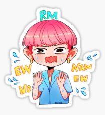 BTS RAP MONSTER EW NO Sticker
