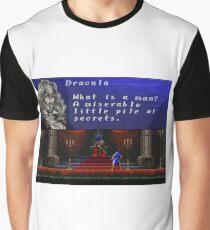Castlevania - Miserable little pile of secrets Graphic T-Shirt