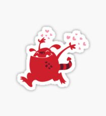 Lurve Monster Sticker