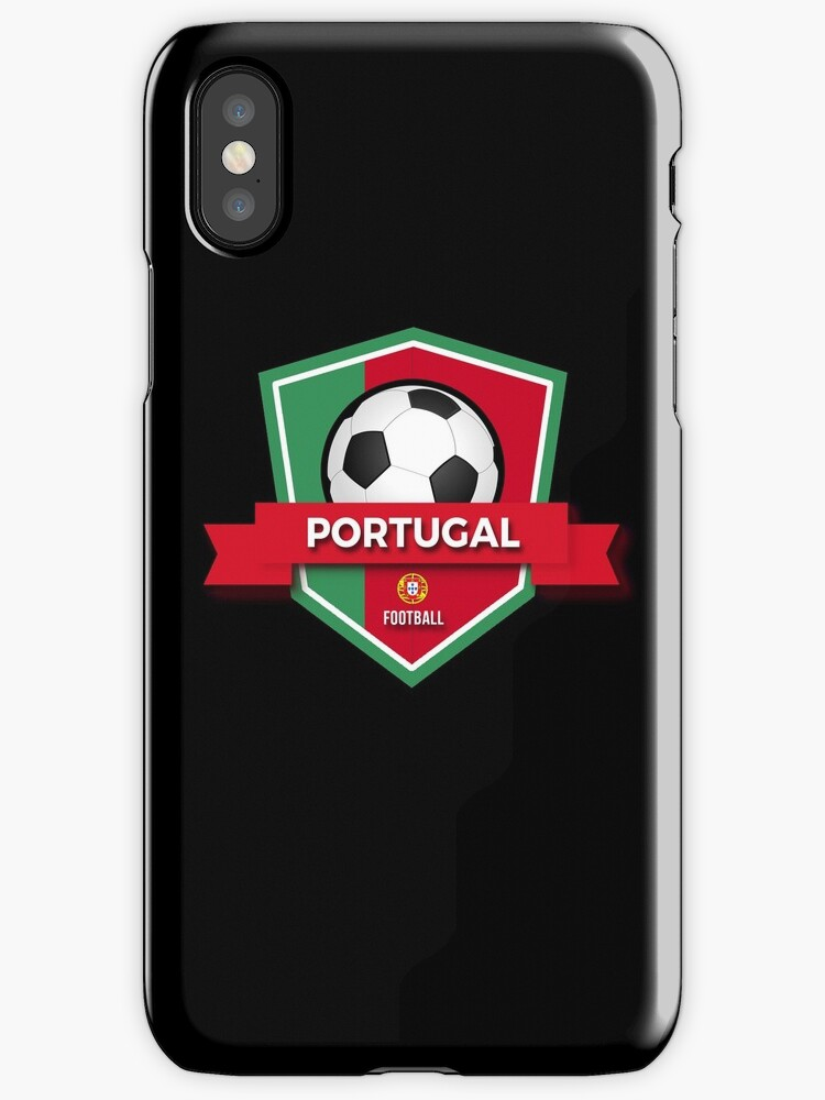 """Portugal Emblem | Football Soccer Art"" iPhone Cases ..."