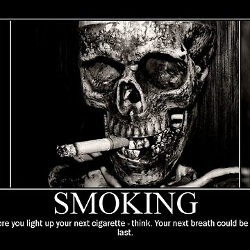Smoking poster by mistressotdark