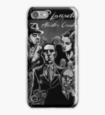 HP Lovecraft vs Aleister Crowley iPhone Case/Skin
